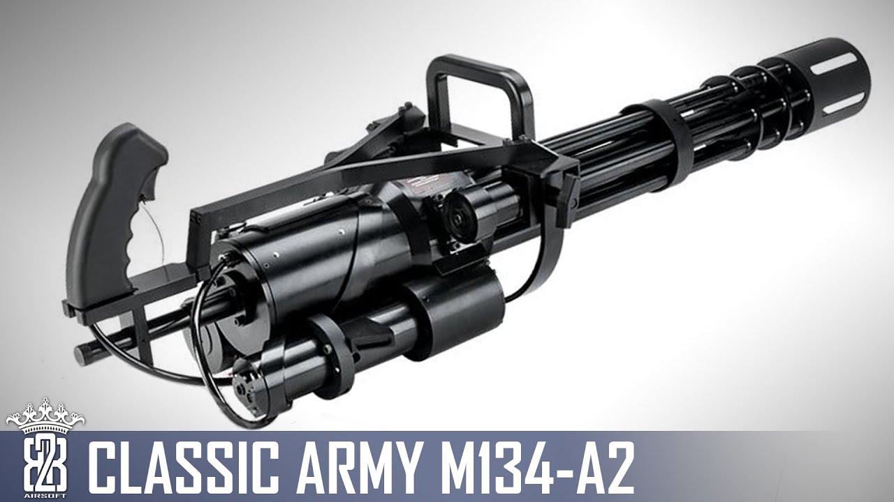 Classic Army Airsoft Minigun M134-A2 Test Allemand | Sous-titre anglais
