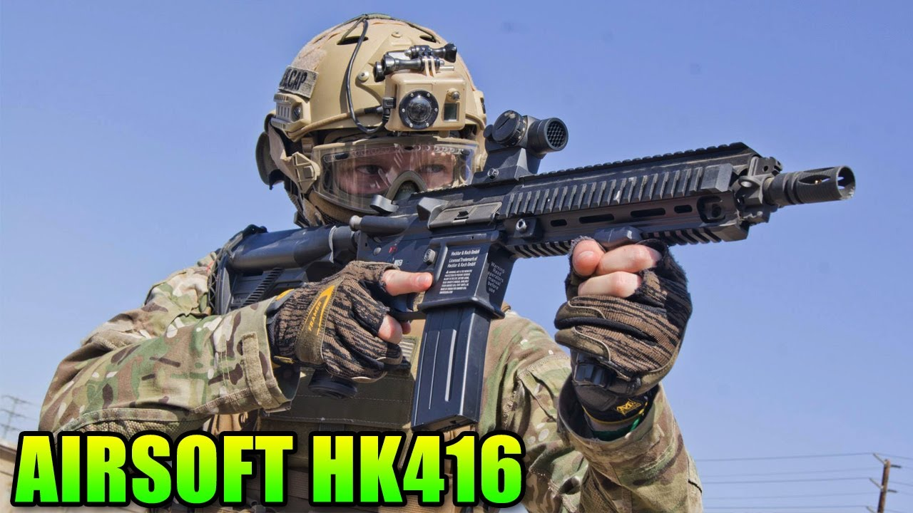 Airsoft Elite Force VFC HK416 – Review & Gameplay