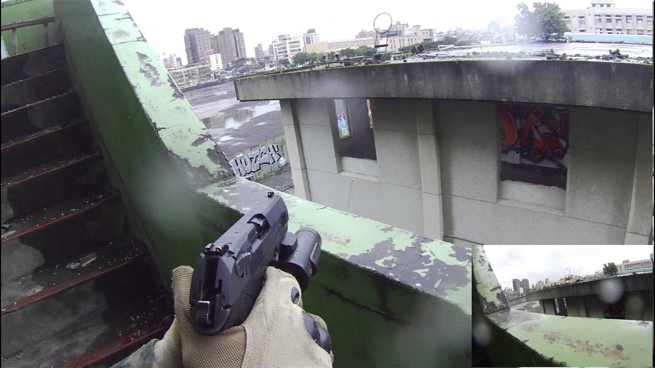 Jeu Airsoft avec pistolet uniquement (Tokyo Marui PX4, Tokyo Marui Hi-Capa 5.1) [Contour Roam]