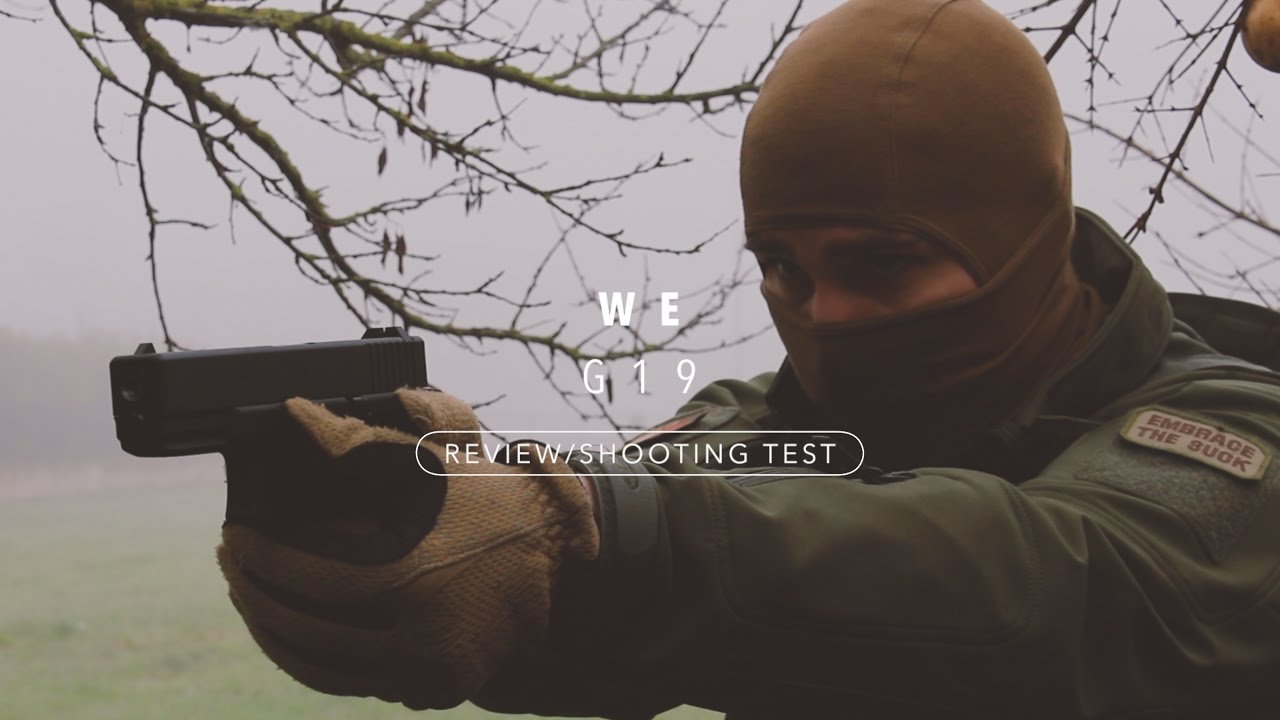 WE Airsoft G19 / Glock 19 [Review/Shooting Test]