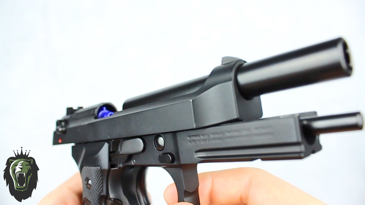 KJ Works Pistolet GBB en métal M9A1 – Avis Kingdom Airsoft