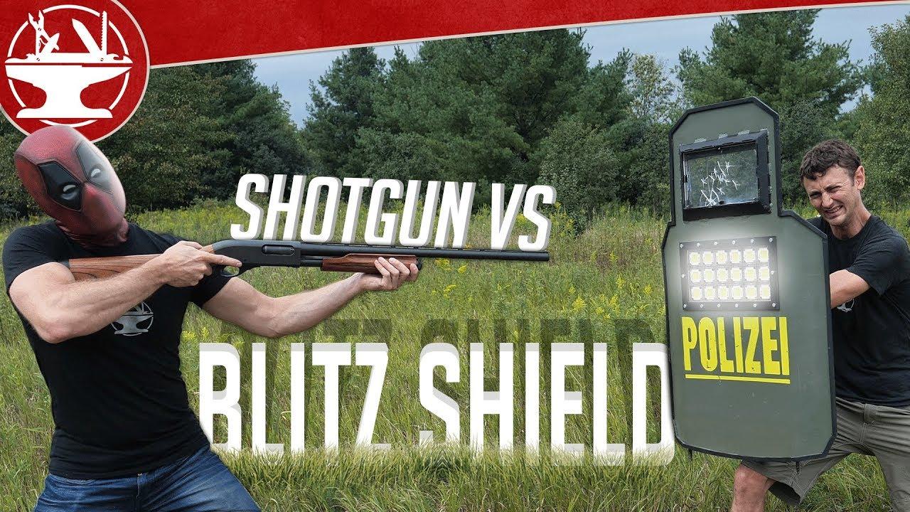 Blitz Shield Real Life Testing (à partir de R6 SIEGE)