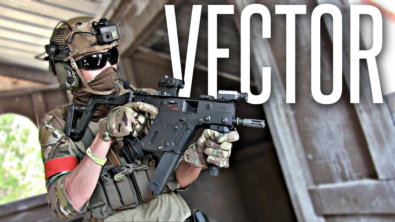 LE VECTEUR AIRSOFT NIGHT-OPS! – Krytac Vector Review & Gunplay