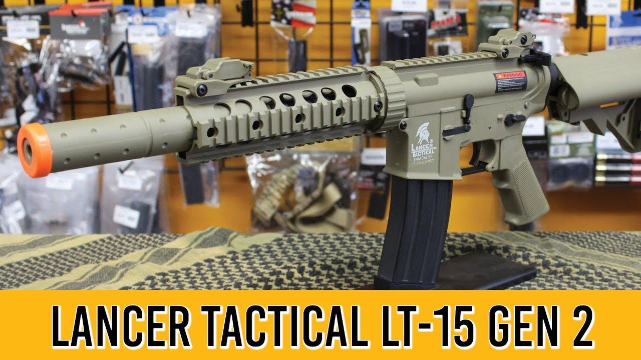 Revue du Pistolet Airsoft LT-15 Gen 2 de Lancer Tactical