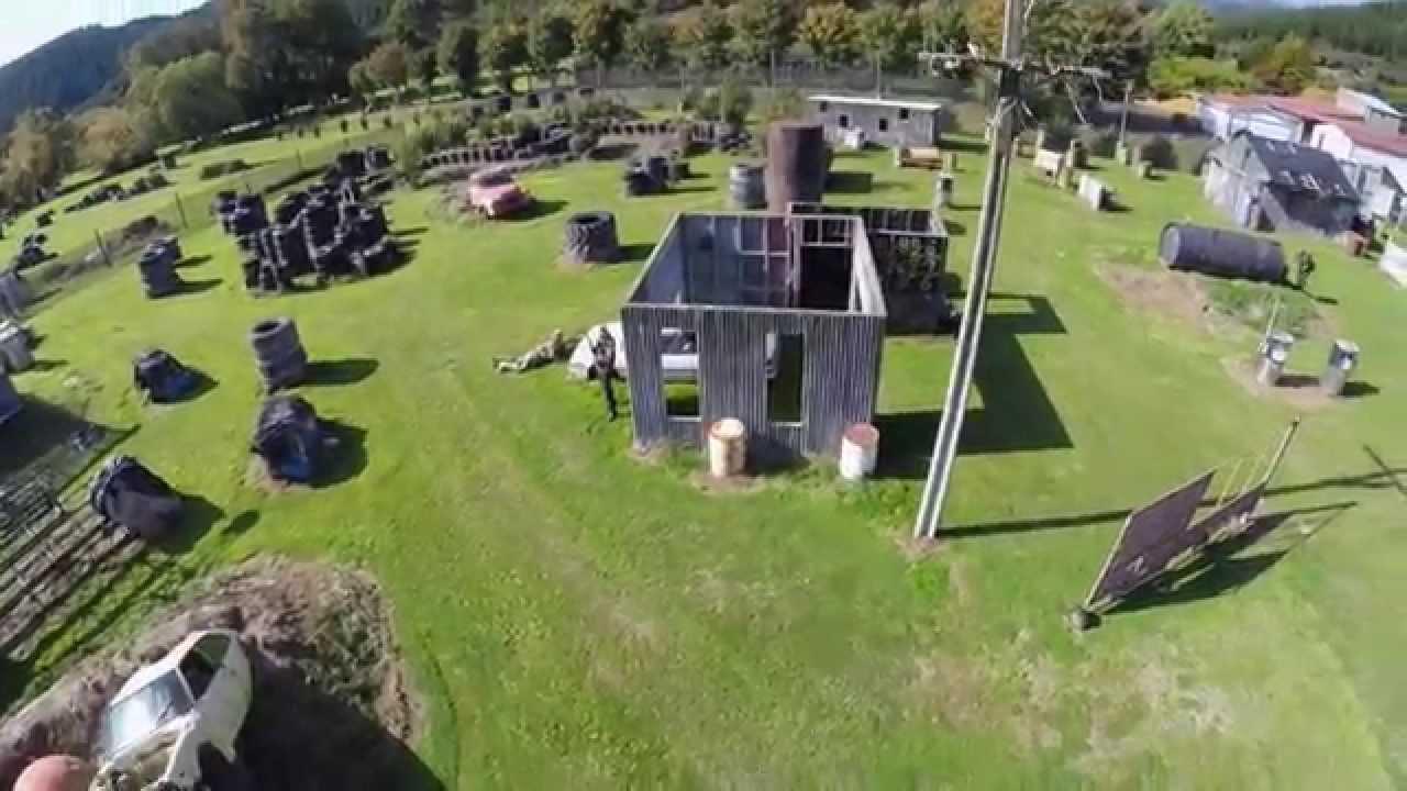 Drone Footage: Nelson Airsoft Corps, match interclubs de la journée ANZAC 2015 – Voir en HD