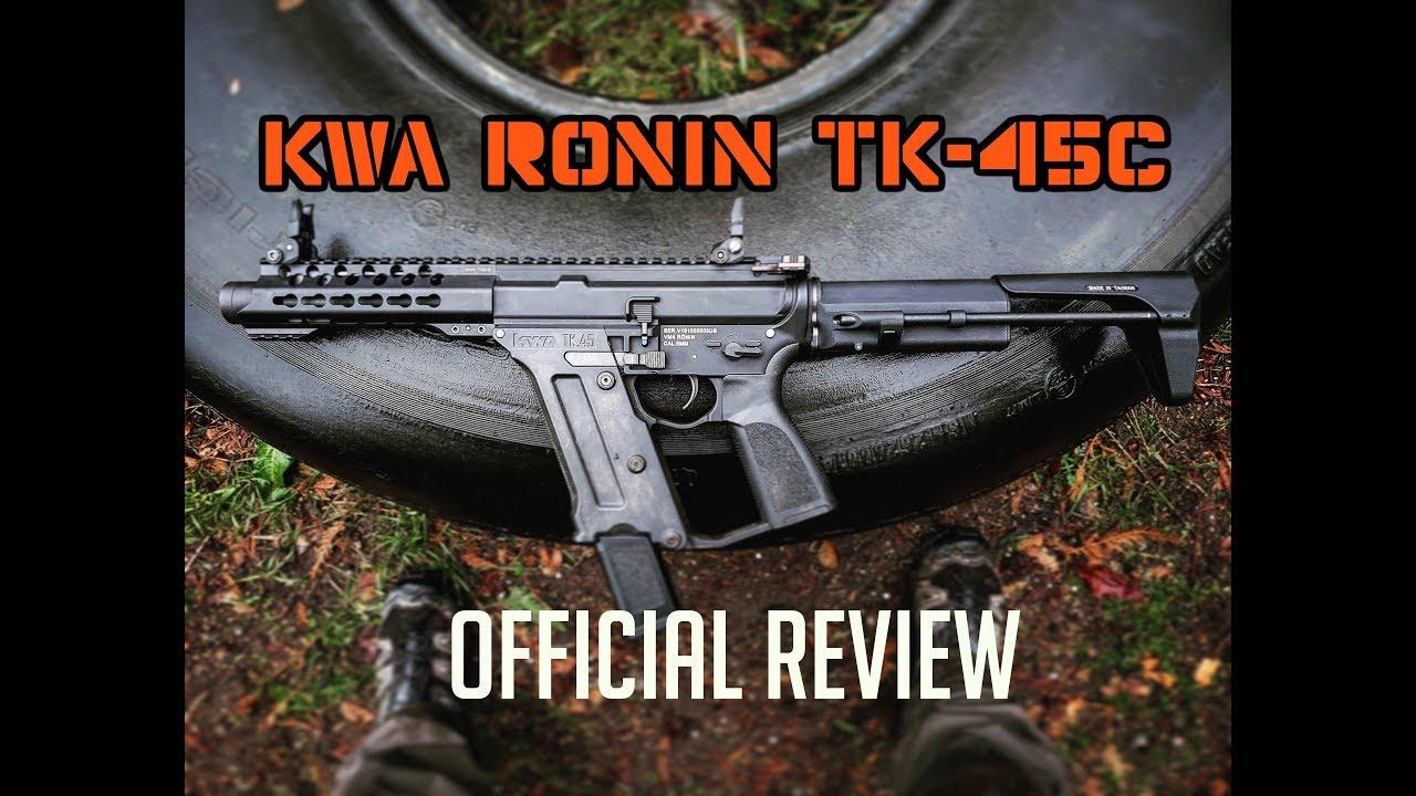 Le premier examen KWA Ronin TK-45C !!! – Revue Airsoft Amigos