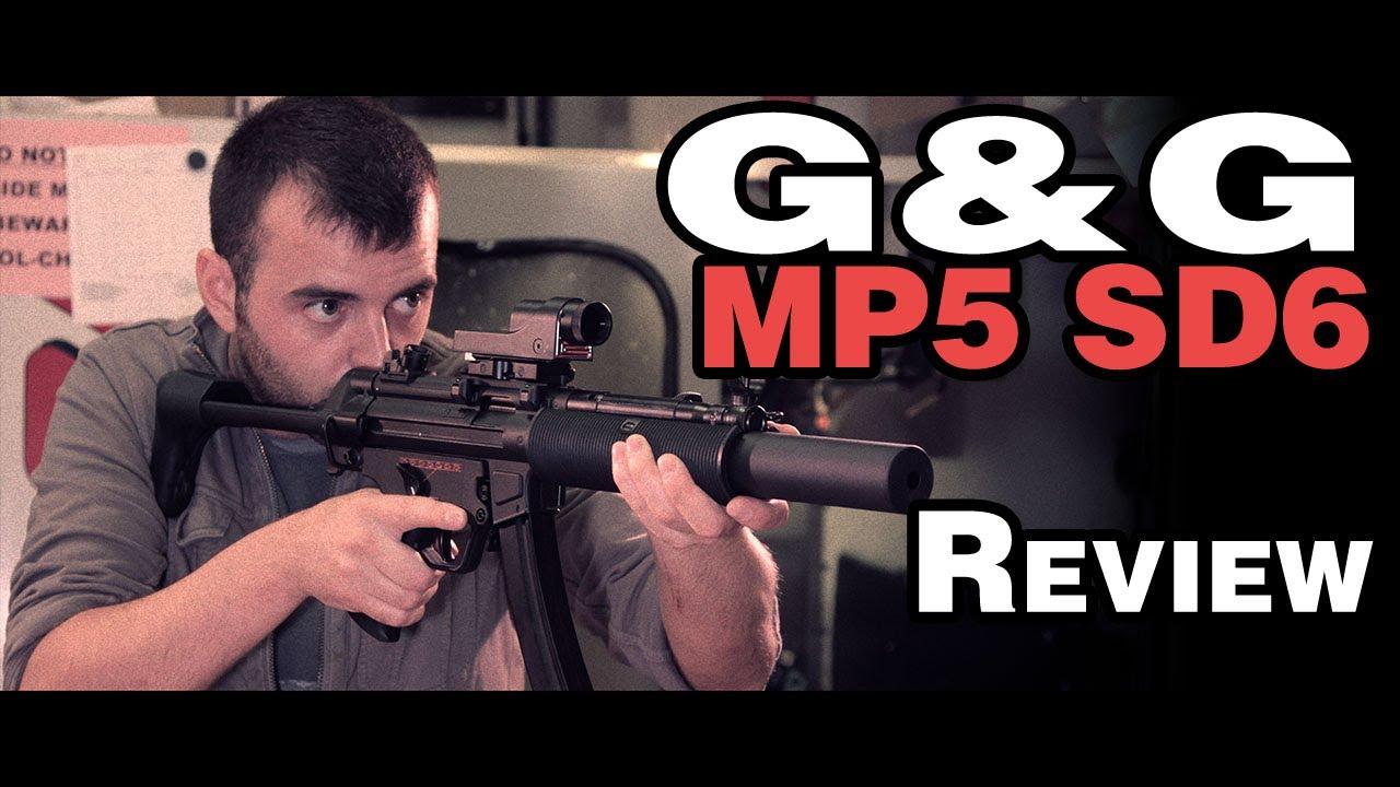 G & G MP5 SD6 Test – Test de portée PM5 H & K SMG 30m – Airsoft
