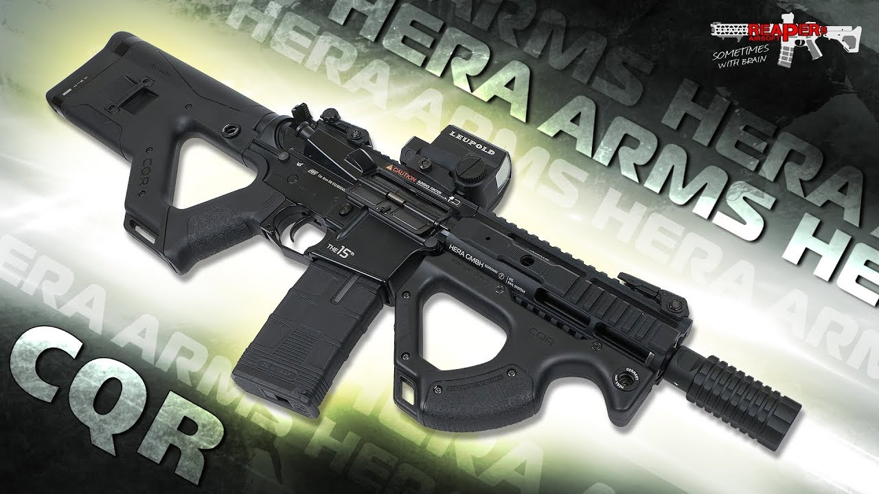 [Review] Hera Arms CQR S-AEG (ICS, ASG) 6mm Airsoft / Airsoft avec ICS SSS Gen.2