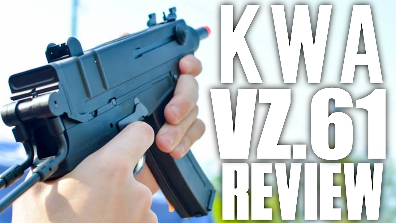 KWA KZ61 Skorpion Unboxing et Review – USAirsoft Le teste: Station Airsoft