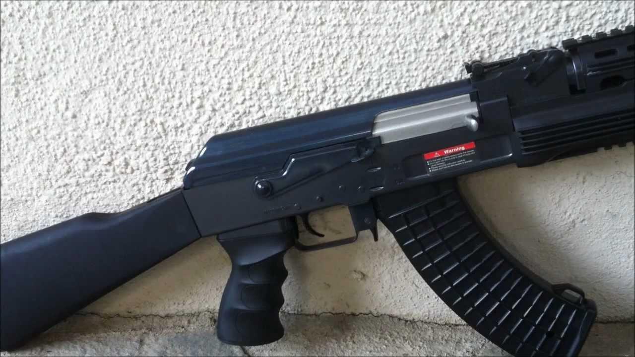 JG Tactical RIS AK47 Review & Test de tir et mise à jour (Airsoft AEG)