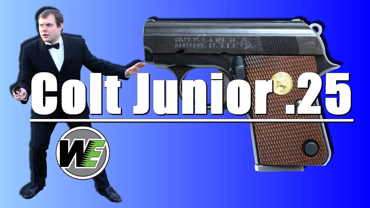 Colt Junior .25 WE – REVIEW AIRSOFT