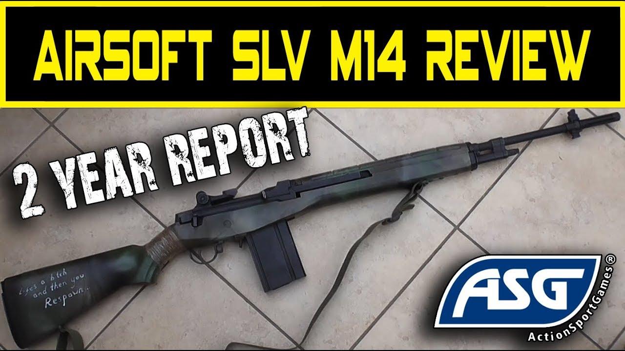 Airsoft ASG M14 SLV Avis