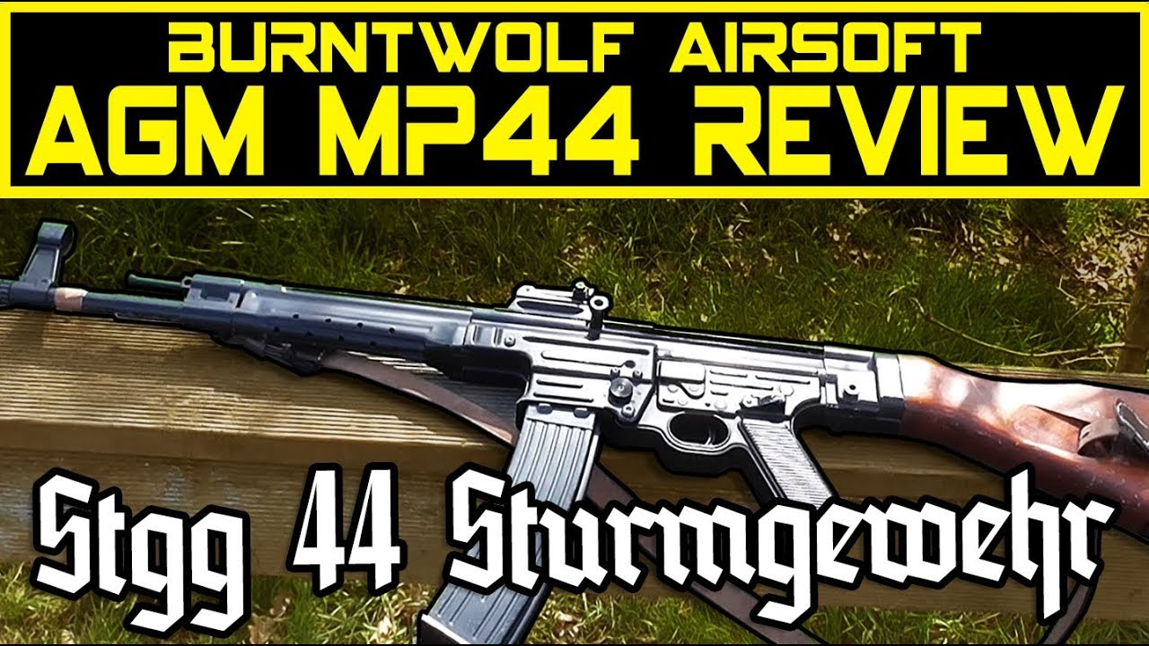 AGM Airsoft Stgg44 Mp44 Sturmgewehr Review