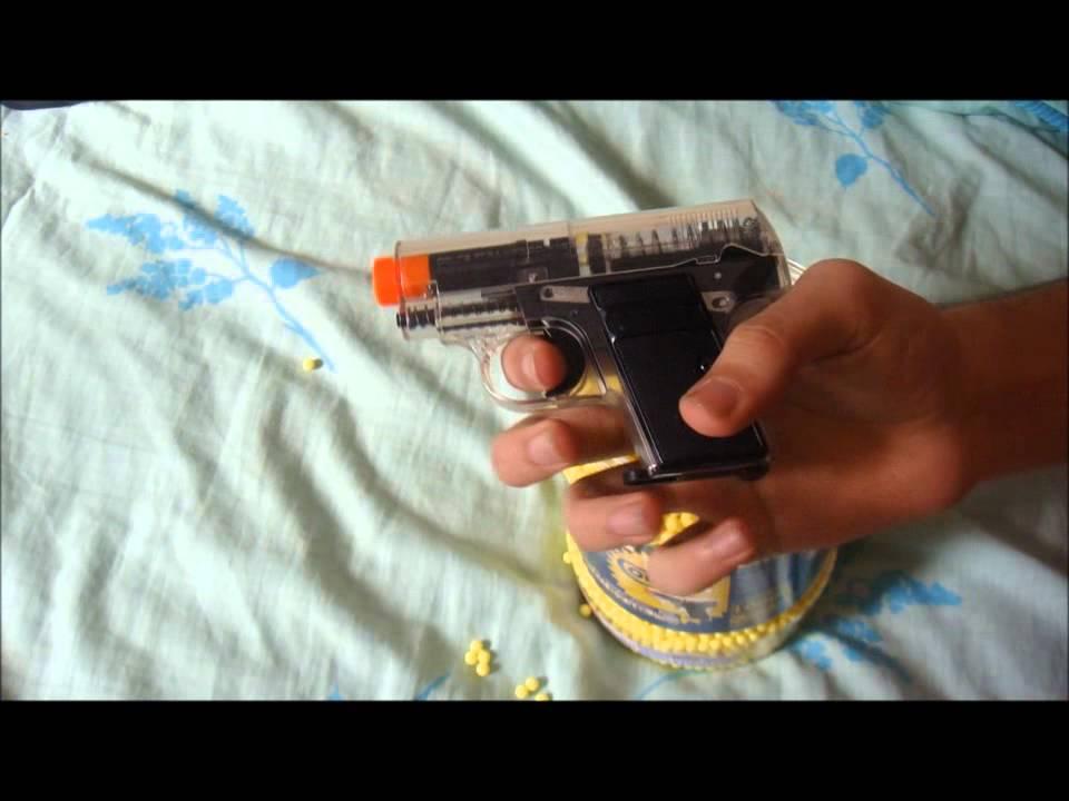 Colt 25 Airsoft BB Gun + Tir & Revue de BB