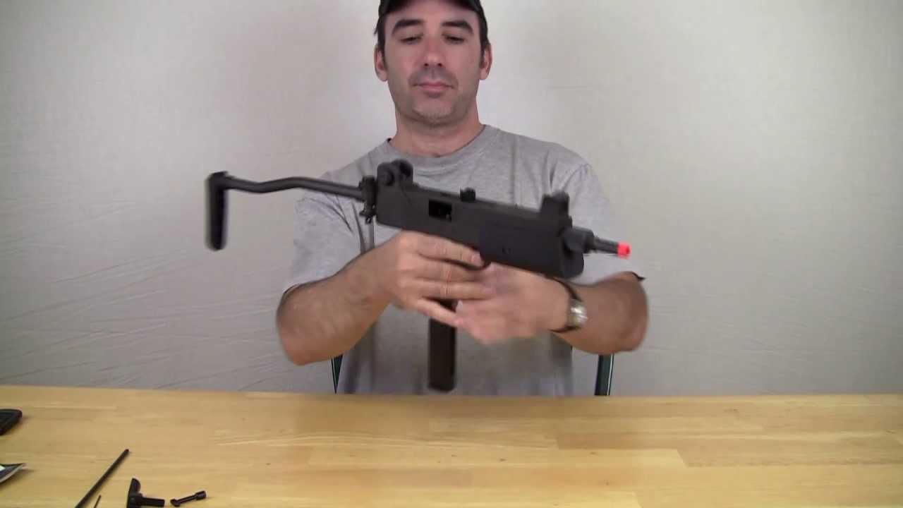 Pistolet mitrailleur HFC T77 GBB Airsoft Review