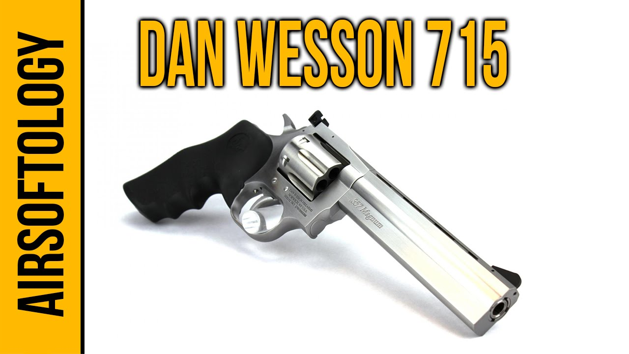 Le revolver Dan Wesson 715 CO2 Airsoft | Revue Airsoftology