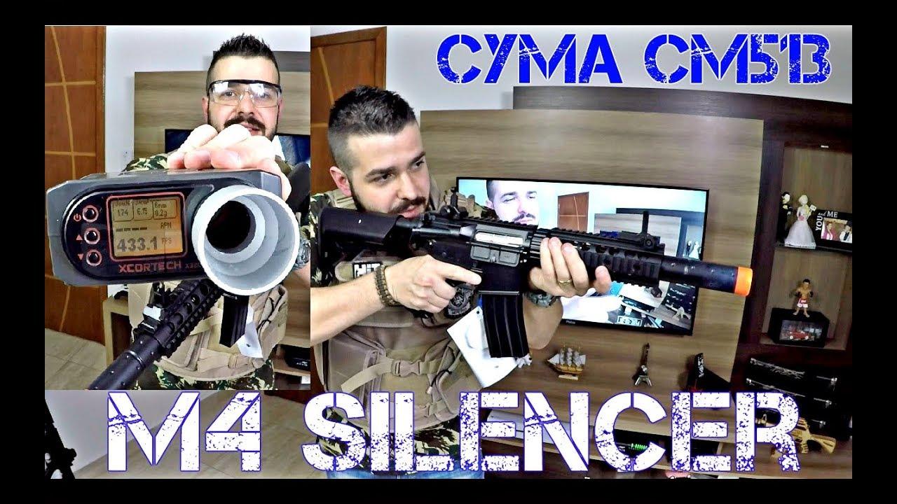 SILENCIEUX M4A1 CYMA CM513 Noir | Airsoft Review | FBAIRSOFT