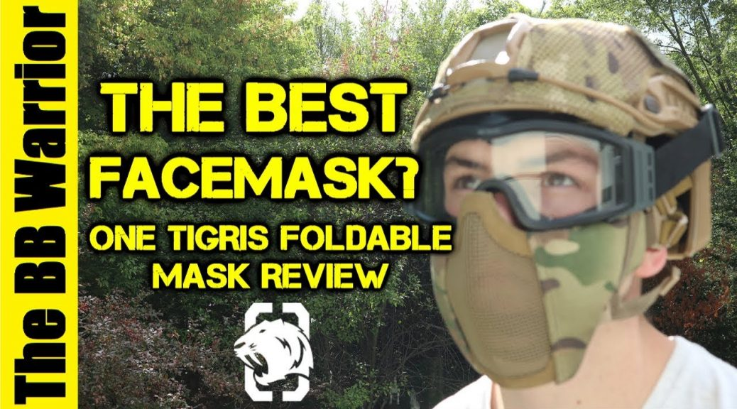 masque facial airsoft