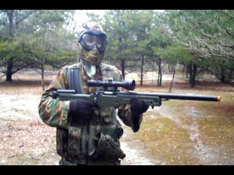 Revue du fusil de sniper AGM L96 Airsoft