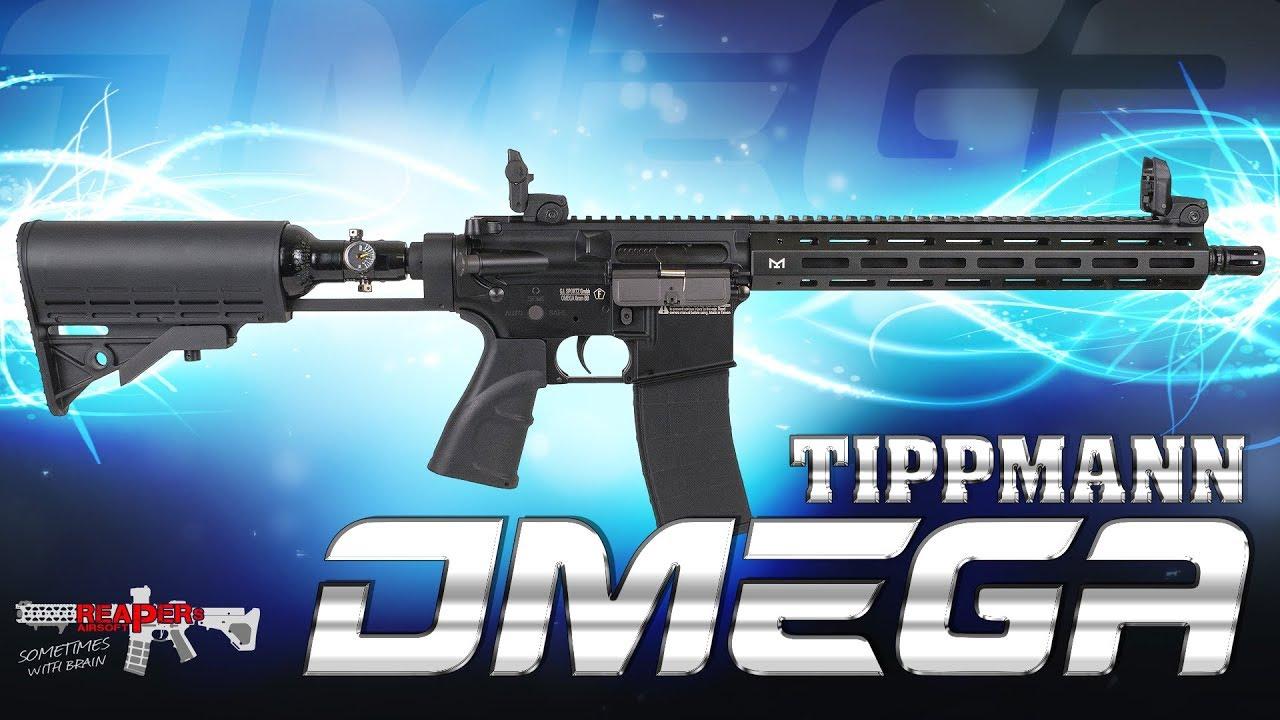 [Review] Tippmann Omega HPA (technologie, démontage, comparé à Milsig M6) Airsoft / Softair 4K UHD