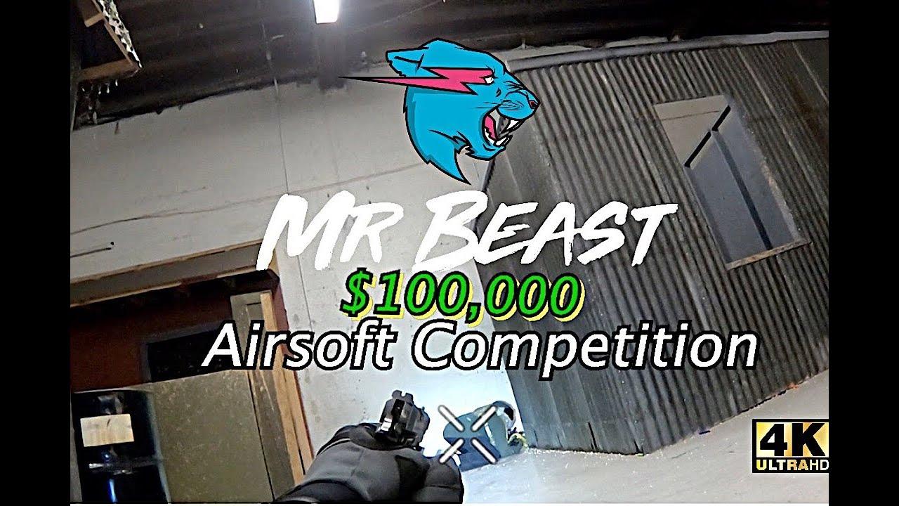 MrBeast – Vidéo d'inscription officielle du concours Airsoft de 100 000 $