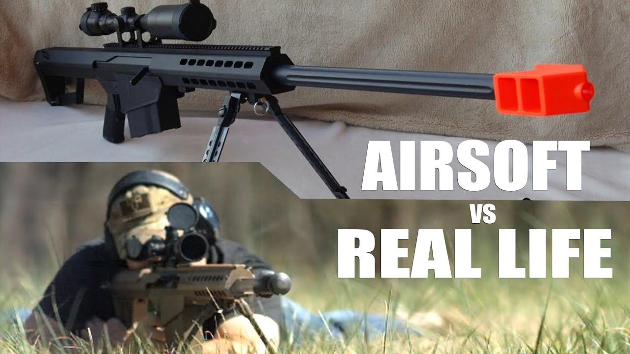 Airsoft vs la vraie vie