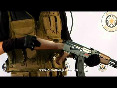Airsoft MegaStore Review! – Revue de la gamme de modèles de carabines AEG AK47 / AK-47 en métal tactique