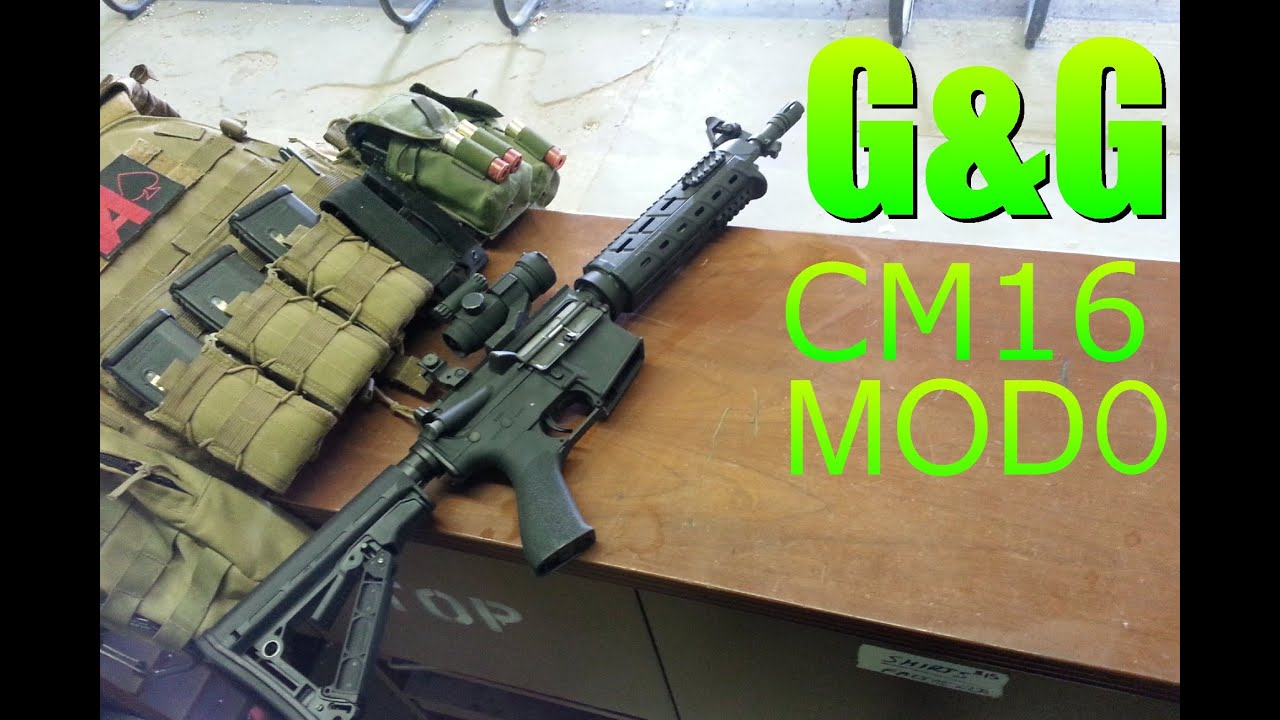 G & G CM16 Mod0 Airsoft M4 Avis