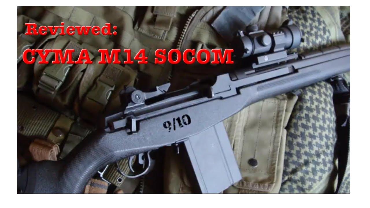 CYMA M14 SOCOM REVIEW (CM023A AIRSOFT)