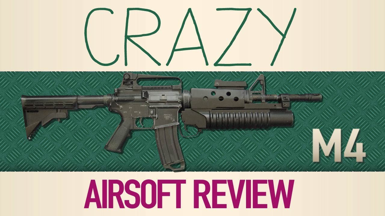Crazy Airsoft Review COLT M4
