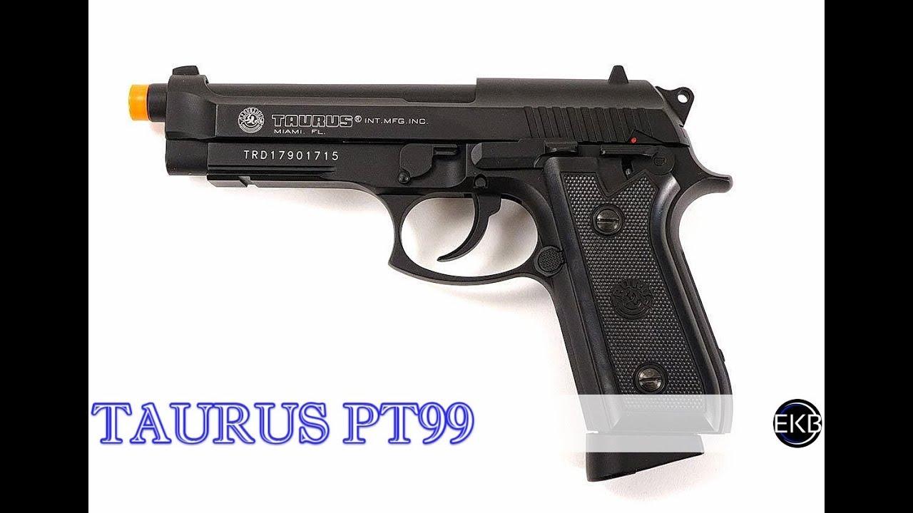 Airsoft   Pistolet à CO2 CO2 Taurus PT99   Revue complète