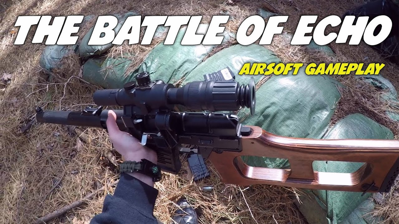 La bataille de l'écho | Airsoft Gameplay