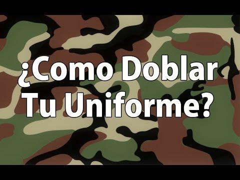Comment plier votre uniforme – Revue Airsoft Argentine