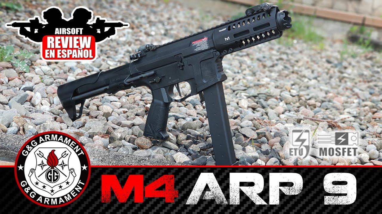 M4 ARP9 G & G | Revue Airsoft en espagnol (Test Shot & Chrono)