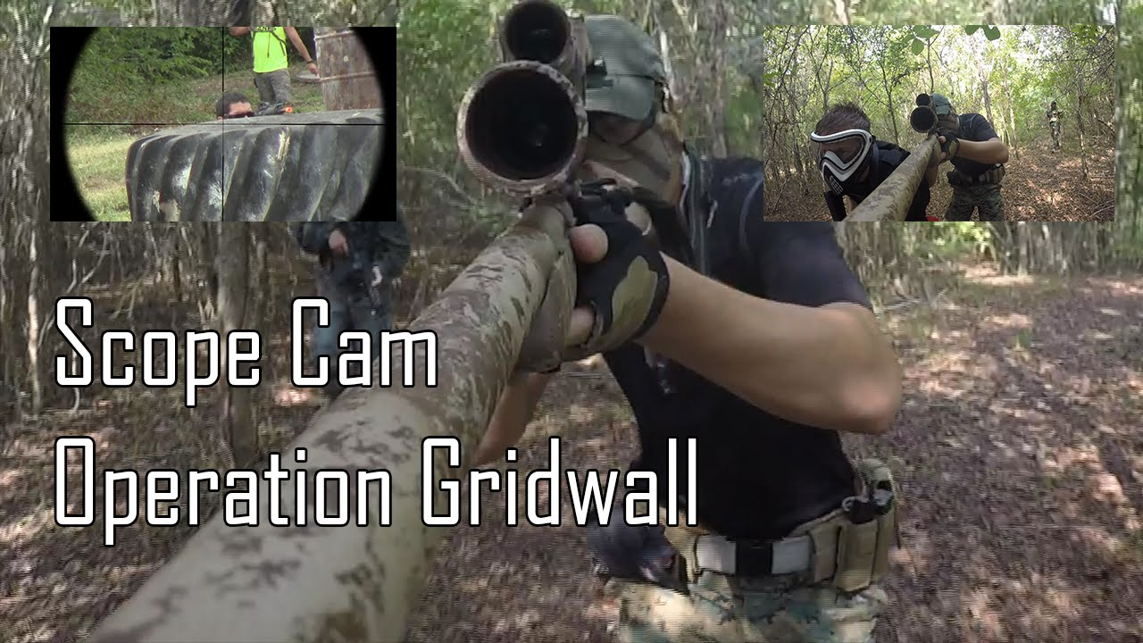 Sniper Scope Cam – Gameplay Airsoft – Opération Gridwall