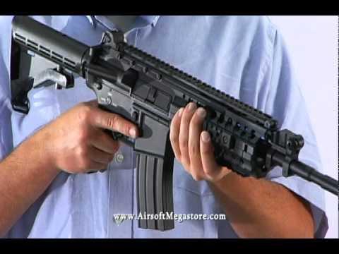 Airsoft Megastore Review! Pistolet Airsoft pour carabine AEG tout en métal RIS de DBoy M4 S-System RIS