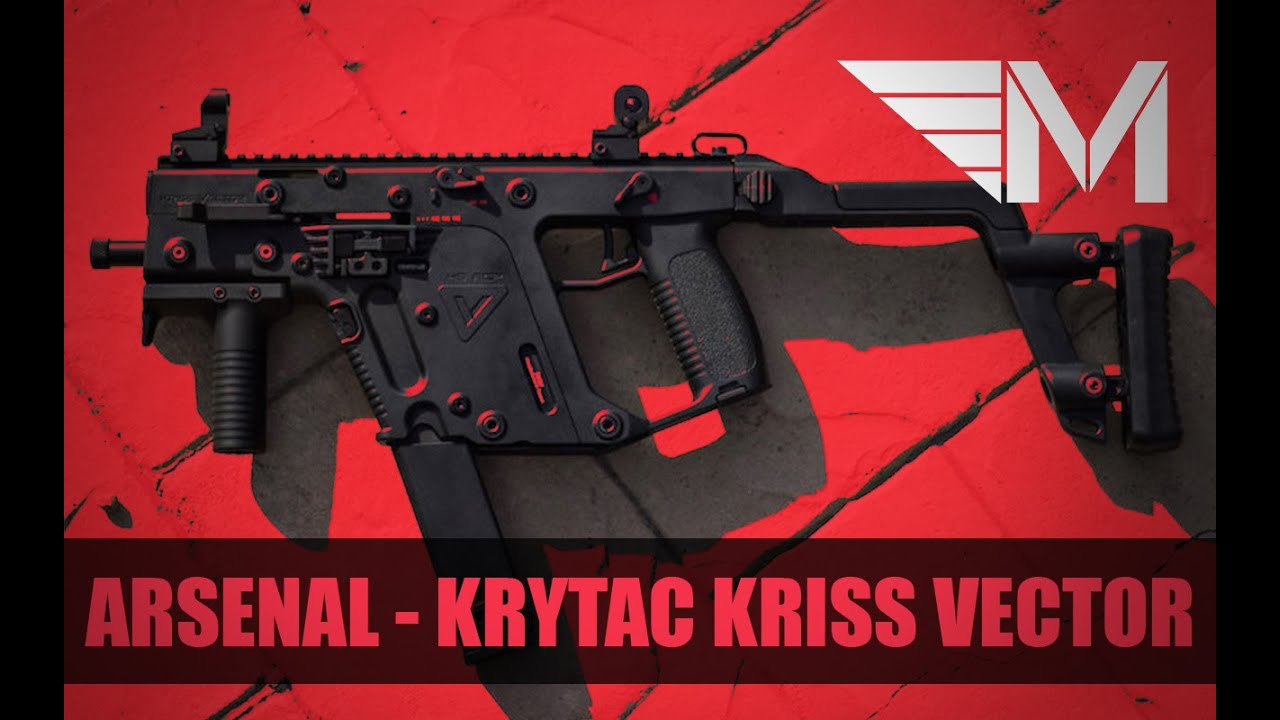 Milice Airsoft – Arsenal – Kriss Vecteur par Krytac