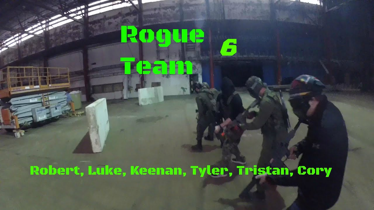 Airsoft: Match 5v5 Team Death à Fergus Paint Ball / Airsoft (gameplay tactique de Lancer AK74u)
