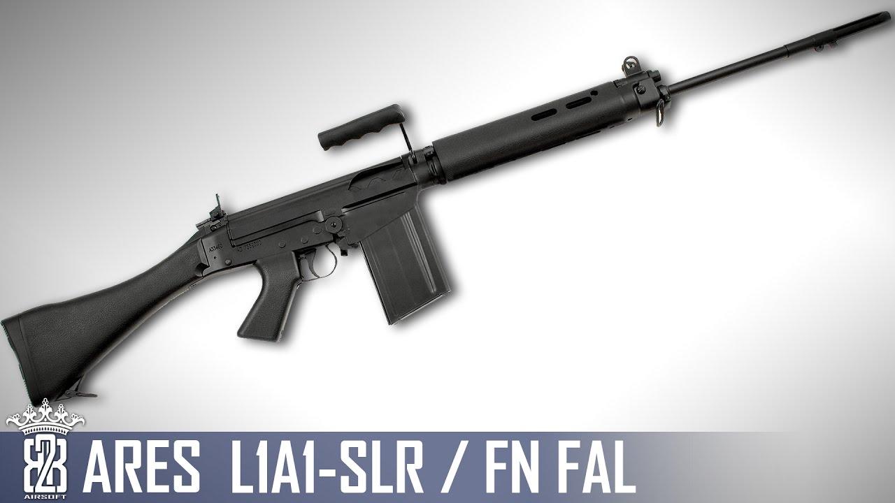 * Revue Airsoft * ARES L1A1 SLR FN FAL   Sous-titres anglais – Deutsch