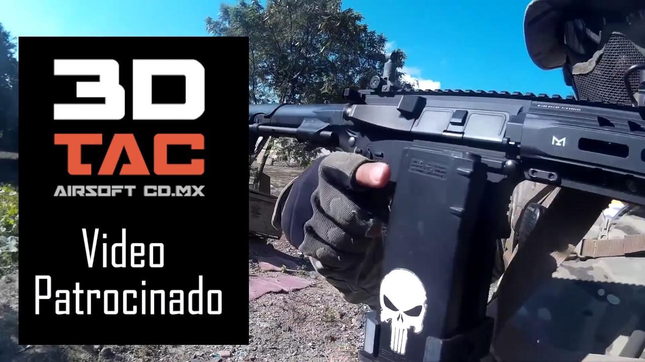 Maglink 3D par 3DTac – Gameplay et Revue – Airsoft Mexico