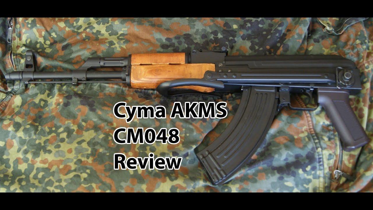 Cyma AKMS CM048 Review – Bois et Métal véritable – Pistolet Airsoft BB de 6mm – AK47