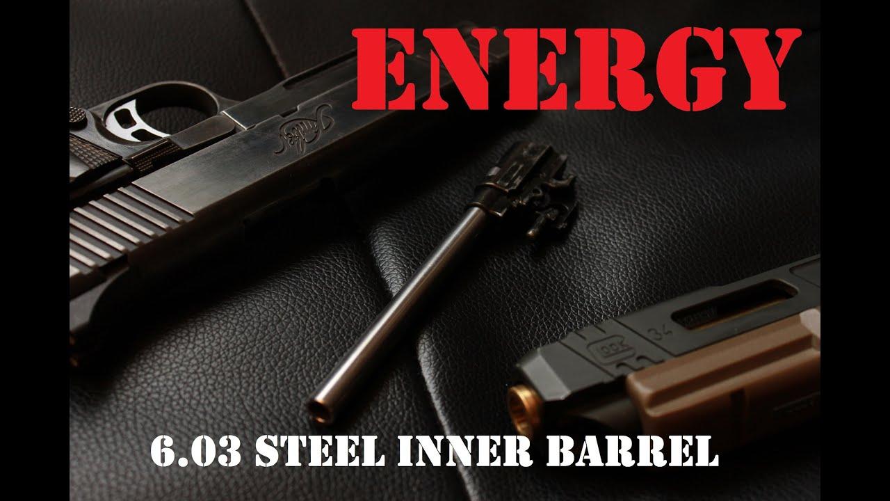 AIRSOFT | REVIEW | À confirmer | Canon de précision M1911 / MEU d'acier inoxydable de pistolet à énergie 6.03mm