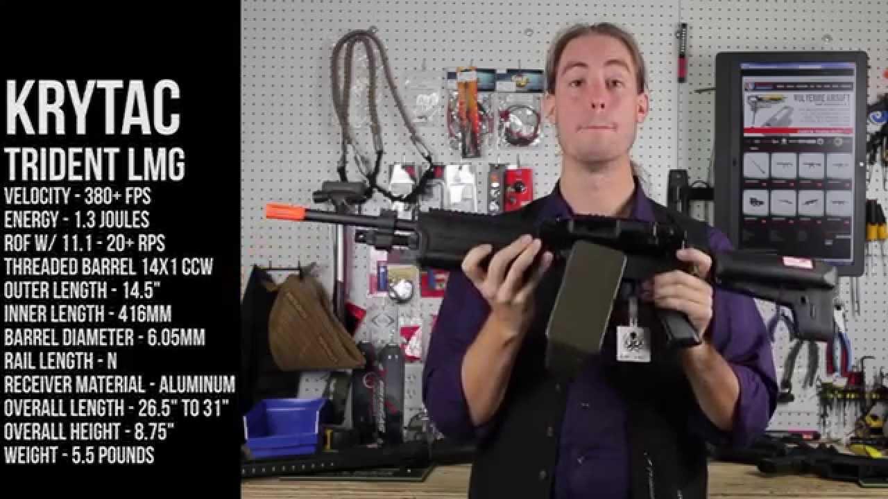 Krytac Trident CRB SPR Examen du pistolet LMG Airsoft – Xtreme Airsoft