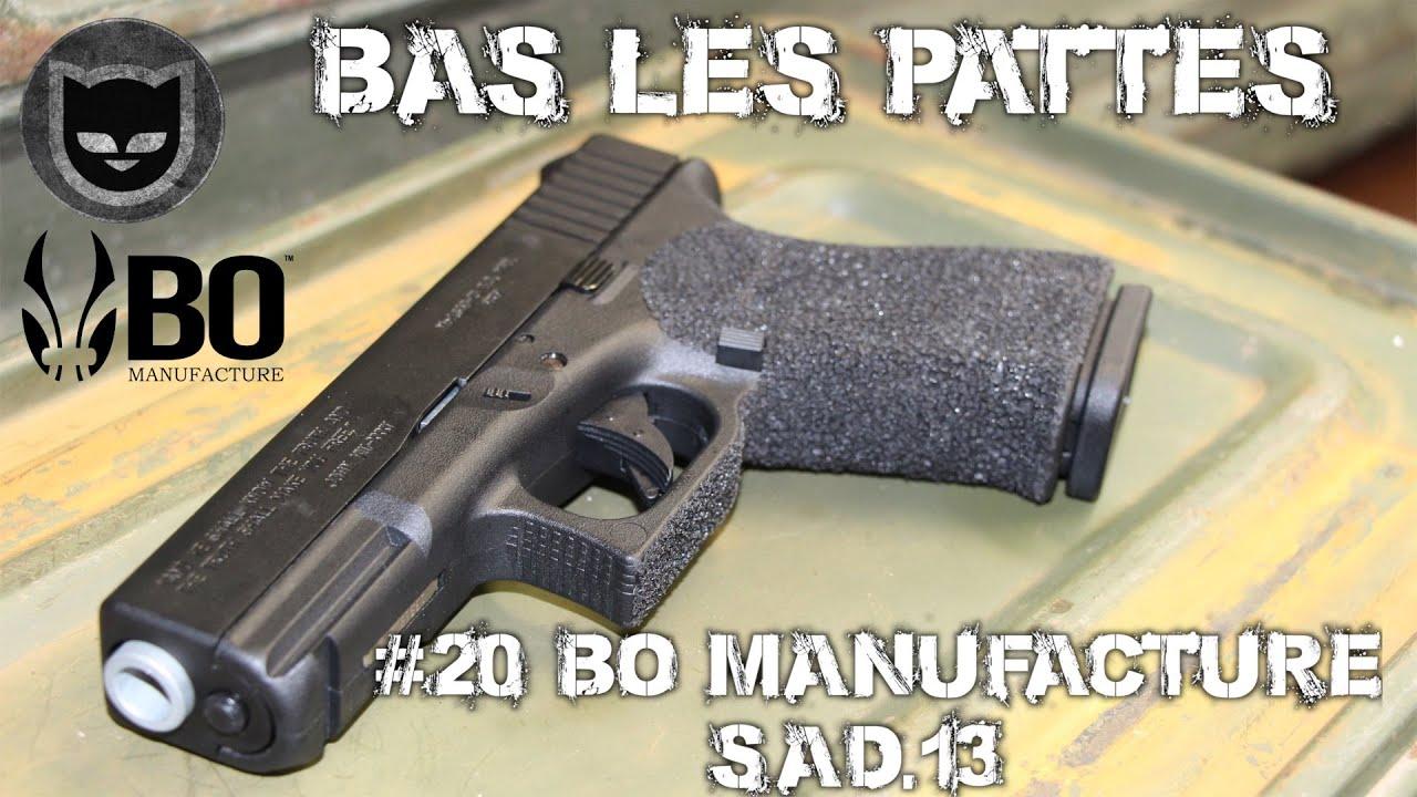 AIRSOFT | REVIEW | TBC | BAS LES PATTES #20 | BO Manufacture SAD.13 ( ENGLISH SUBS )
