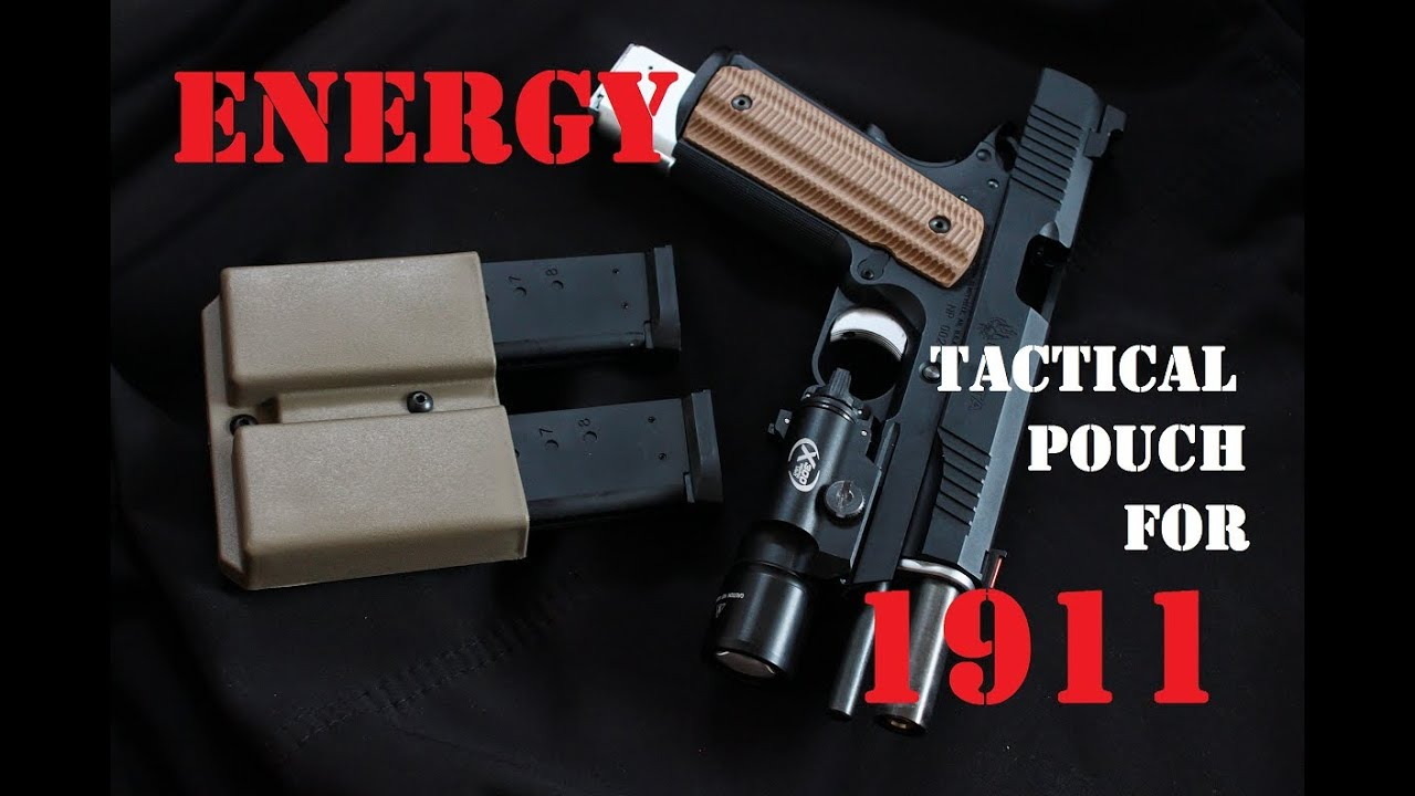 AIRSOFT | REVIEW | À confirmer | Pochette tactique Energy Mag pour 1911