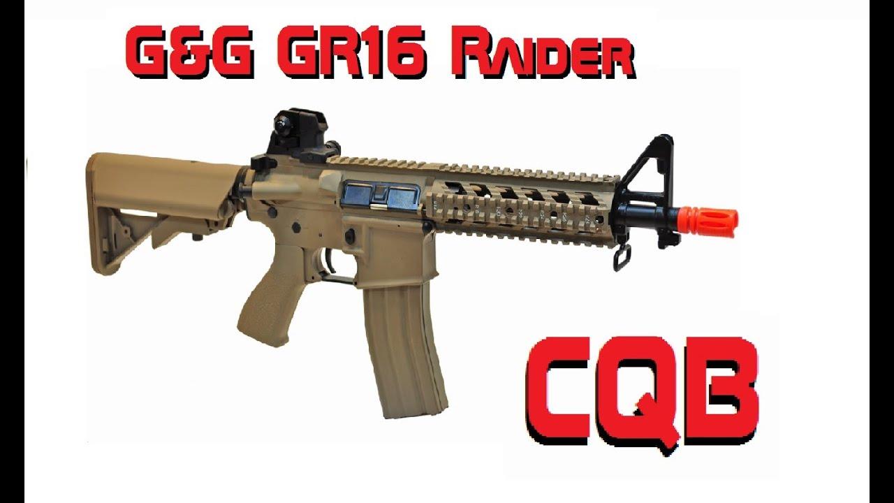 (G & G) GR16 Raider – CQB   REVUE AIRSOFT GUN