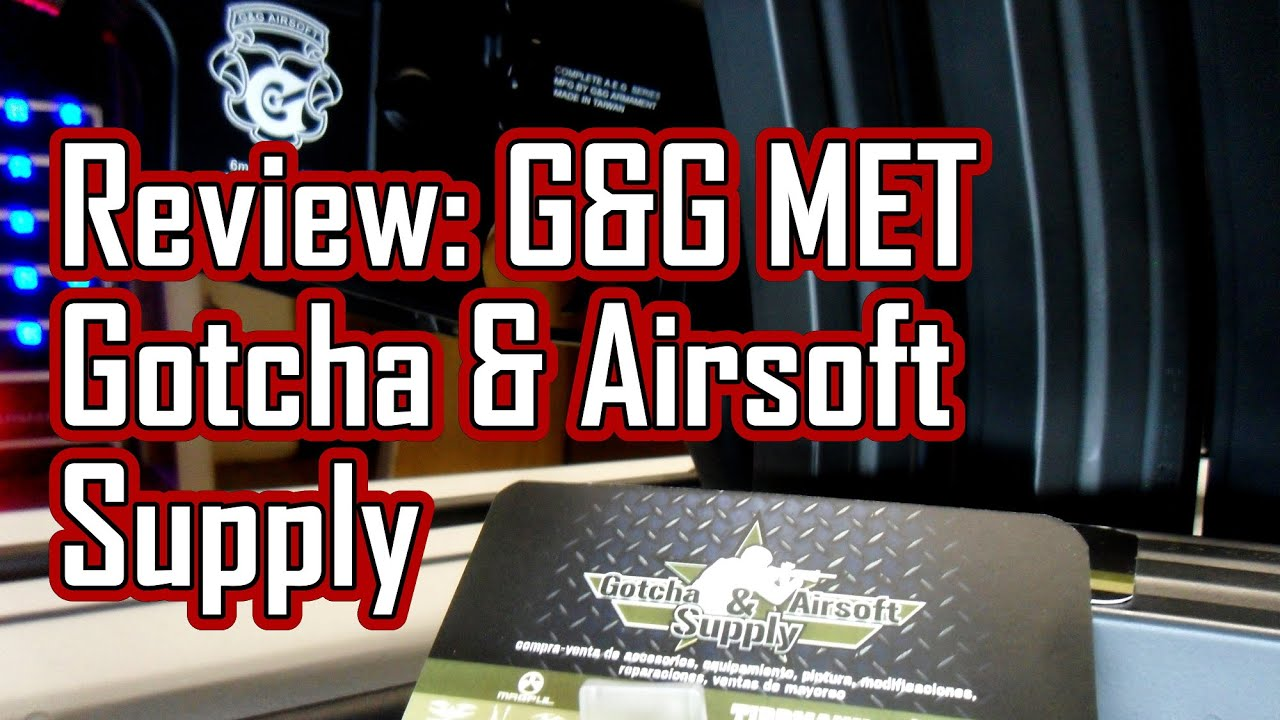 G & G MET – Gotcha & Airsoft Supply