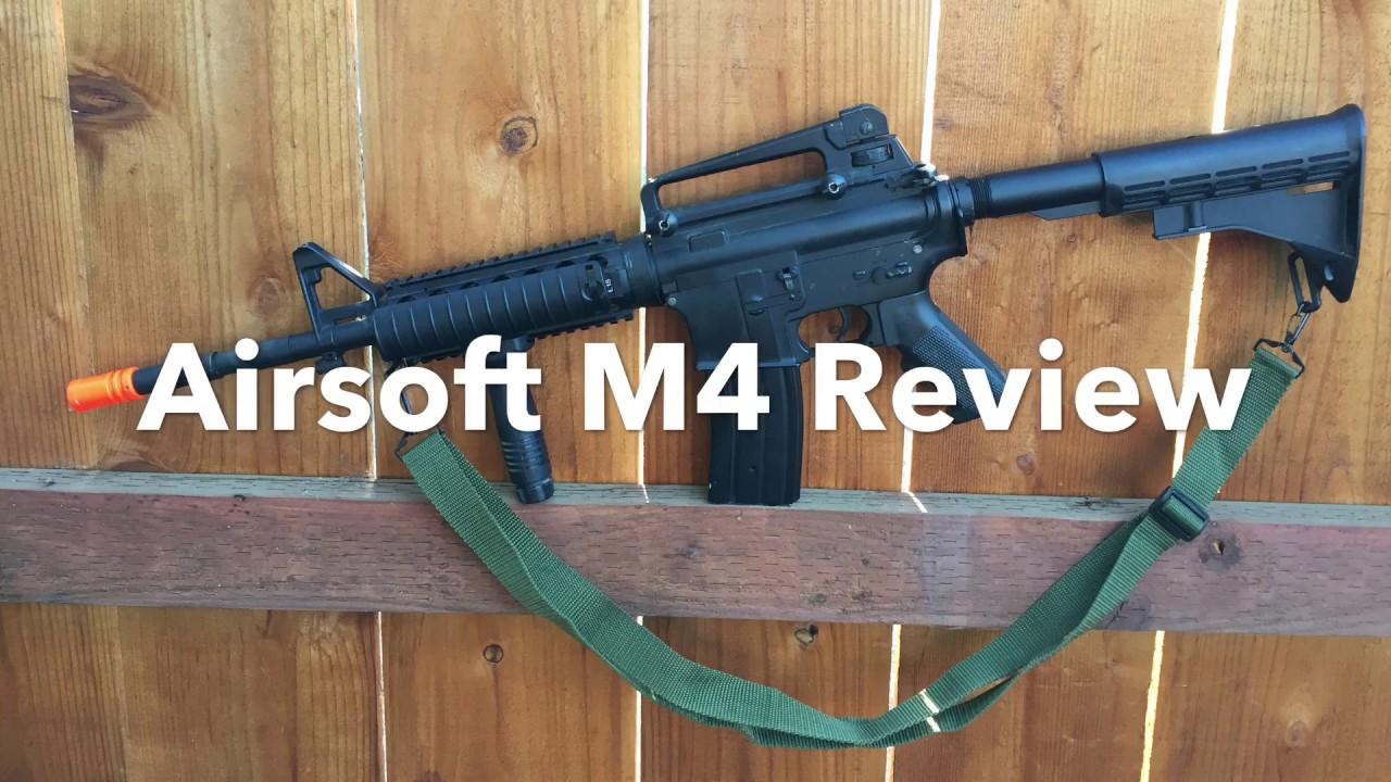 Test du pistolet Airsoft M4 SOPMOD (Airsoft Luke)