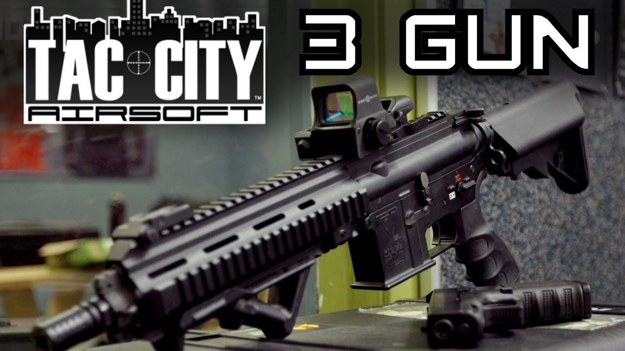 Concours Airsoft 3 Gun de Tac City