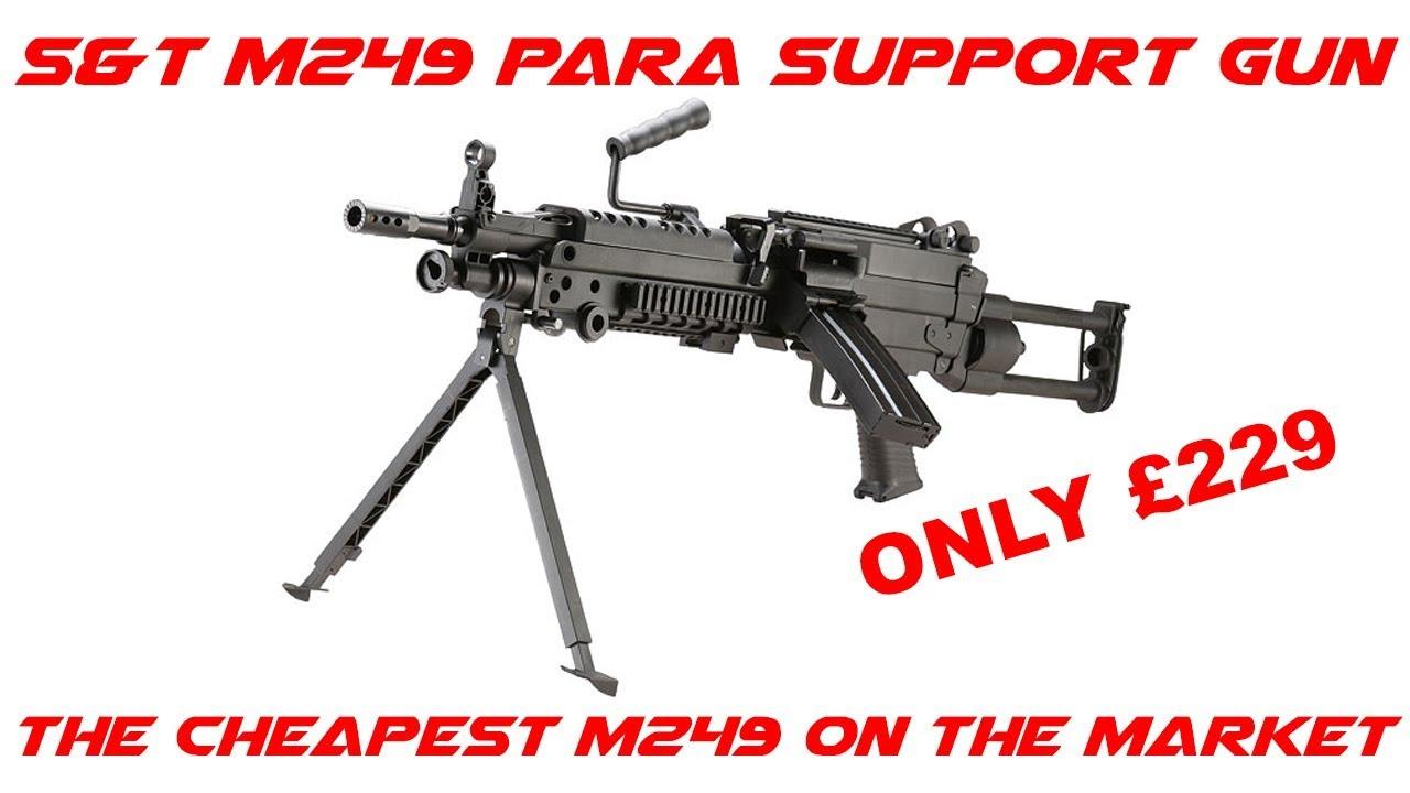 S & T M249 Para Sportline – Le retour chez soi Ep.37